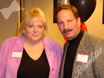 Pam Hoffer and Rob Tucker