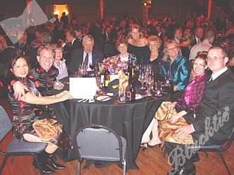 The Grills Family Foundation table was one of the Gold Sponsors