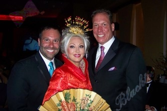 John Farnam, Stephanie Odak - looking like a blonde Chinese princess - and Paul Heitzenrater