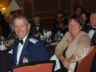 Adjutant General Mike Edwards and his wife Laury