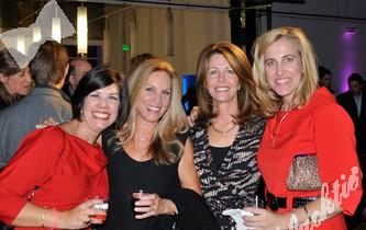 Wendy Shaya, left, Marian Van Poppel, Jane McAtee and Tricia Smith