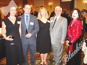 Cathy Kunst, left, Leon Erickson, Terri Smith, Warren Smith, Charla Bruce