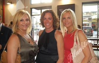Terri Barnes, left, Jen Darling and Elizabeth Brian