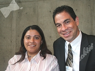 Dolores Quintana and Frank Knappe from Boys and Girls Club