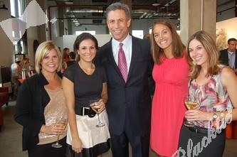 Julie Headley and Andrea Caruso with CHC Foundation, event chair George Solich, Kendall Cordova with the Foundation and Jenna Daurio wtih Cordillera Energy
