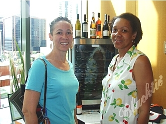 Lisa Givens, left, last year's winner of the Denver's Top Home Chef contest, and Margaret Neal