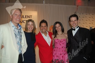 Geoff and Leslie Smart (committee), left, event co-chair Max Martinez, Jennifer Gaudiani, Bryan Leach