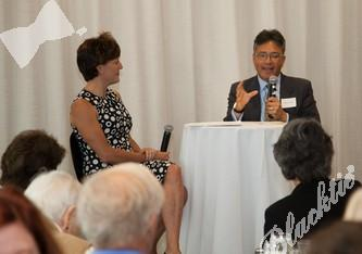 Kelly Brough interviewed Milton Chen for an interesting twist to a keynote speaker