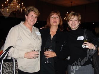 Stephanie Manley, left, with Patricia Swanson and Laura Back