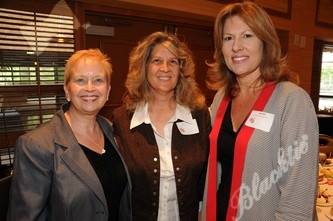 Debbie Stafford, left, with Terry Campbell and Cindy Bohl