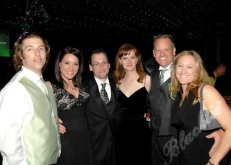 Left to right: Charles and Leslie Howard, Matt and Mindy Morris and Rich and March Clements.