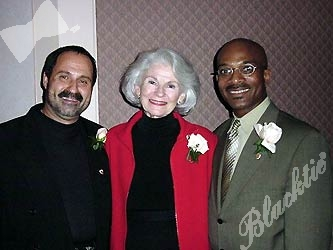 The 2001 SAVVY Award winners: Mickey Ackerman, Sue Miller and Keith Matthews.