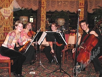 Blacktie Photos The Kendula String Quartet Katie