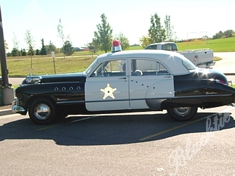 Police Car Auctions >> Blacktie | Photos | This old fashioned police car was one of three on display at Colorado ...
