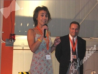 Concours D Elegance >> Blacktie | Photos | Dr. Lia Gore introduces the video that showcases the work of Childrens hospital