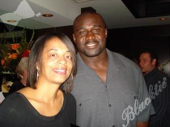 Pictures Of Denver Colorado >> Blacktie   Photos   Karen Ekuban with husband, Bronco defensive player, Ebenezer.