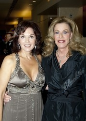 Blacktie Photos Actress Stephanie Kramer Left With